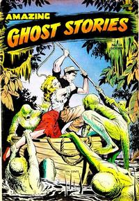 Cover Thumbnail for Amazing Ghost Stories (St. John, 1954 series) #14