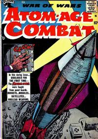 Cover Thumbnail for Atom-Age Combat (St. John, 1958 series) #1