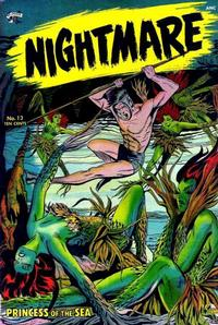 Cover for Nightmare (St. John, 1953 series) #13