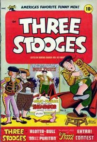 Cover Thumbnail for Three Stooges (St. John, 1953 series) #5
