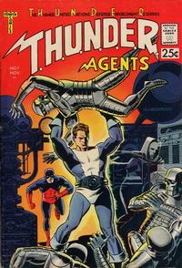 Cover Thumbnail for T.H.U.N.D.E.R. Agents (Tower, 1965 series) #1
