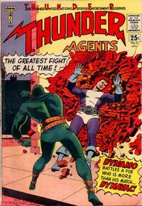 Cover Thumbnail for T.H.U.N.D.E.R. Agents (Tower, 1965 series) #2