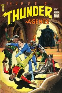 Cover Thumbnail for T.H.U.N.D.E.R. Agents (Tower, 1965 series) #4