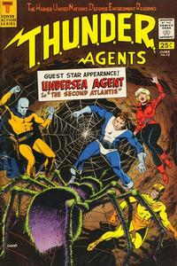 Cover Thumbnail for T.H.U.N.D.E.R. Agents (Tower, 1965 series) #13