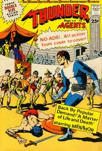 Cover Thumbnail for T.H.U.N.D.E.R. Agents (Tower, 1965 series) #18