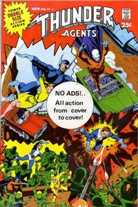 Cover Thumbnail for T.H.U.N.D.E.R. Agents (Tower, 1965 series) #19