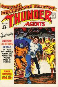 Cover Thumbnail for T.H.U.N.D.E.R. Agents (Tower, 1965 series) #20