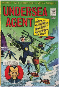 Cover Thumbnail for Undersea Agent (Tower, 1966 series) #1