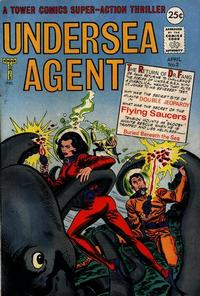 Cover Thumbnail for Undersea Agent (Tower, 1966 series) #2