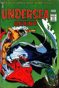 Cover Thumbnail for Undersea Agent (Tower, 1966 series) #3