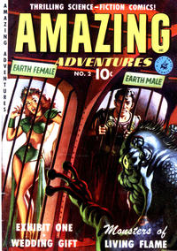 Cover Thumbnail for Amazing Adventures (Ziff-Davis, 1950 series) #2