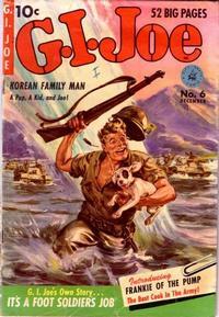 Cover Thumbnail for G.I. Joe (Ziff-Davis, 1951 series) #6