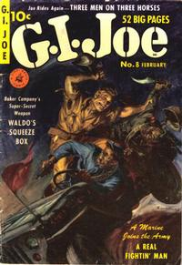 Cover Thumbnail for G.I. Joe (Ziff-Davis, 1951 series) #8