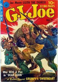 Cover Thumbnail for G.I. Joe (Ziff-Davis, 1951 series) #9