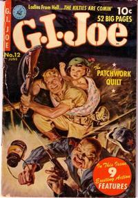 Cover Thumbnail for G.I. Joe (Ziff-Davis, 1951 series) #12