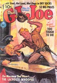 Cover Thumbnail for G.I. Joe (Ziff-Davis, 1951 series) #15