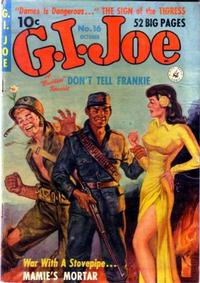 Cover for G.I. Joe (Ziff-Davis, 1951 series) #16