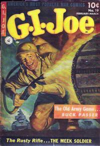 Cover Thumbnail for G.I. Joe (Ziff-Davis, 1951 series) #19