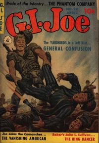 Cover Thumbnail for G.I. Joe (Ziff-Davis, 1951 series) #20