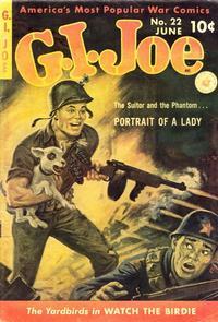 Cover Thumbnail for G.I. Joe (Ziff-Davis, 1951 series) #22