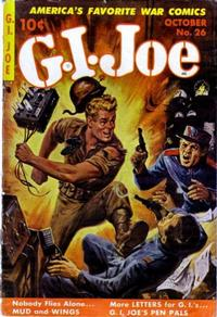 Cover Thumbnail for G.I. Joe (Ziff-Davis, 1951 series) #26