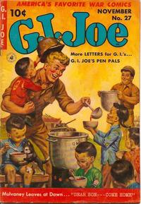 Cover Thumbnail for G.I. Joe (Ziff-Davis, 1951 series) #27