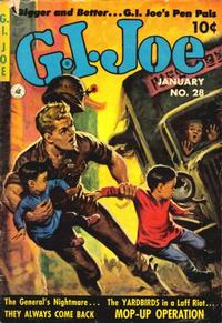 Cover Thumbnail for G.I. Joe (Ziff-Davis, 1951 series) #28