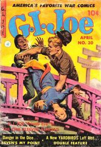 Cover Thumbnail for G.I. Joe (Ziff-Davis, 1951 series) #30