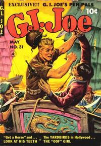 Cover Thumbnail for G.I. Joe (Ziff-Davis, 1951 series) #31