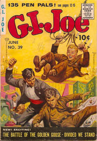 Cover Thumbnail for G.I. Joe (Ziff-Davis, 1951 series) #39
