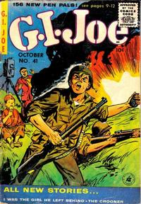 Cover Thumbnail for G.I. Joe (Ziff-Davis, 1951 series) #41