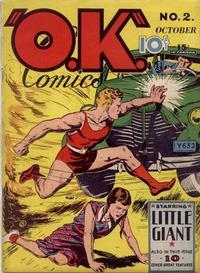 Cover Thumbnail for O.K. Comics (Worth Carnahan, 1940 series) #2