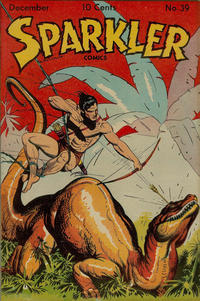 Cover Thumbnail for Sparkler Comics (United Feature, 1941 series) #39
