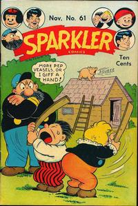 Cover Thumbnail for Sparkler Comics (United Feature, 1941 series) #v7#1 (61)