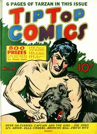 Cover Thumbnail for Tip Top Comics (United Features, 1936 series) #9
