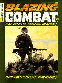 Cover Thumbnail for Blazing Combat (Warren, 1965 series) #3