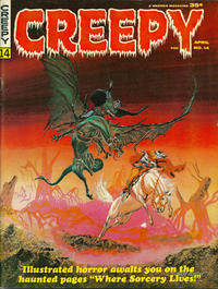 Cover for Creepy (Warren, 1964 series) #14