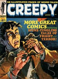 Cover Thumbnail for Creepy (Warren, 1964 series) #21