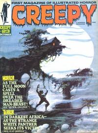 Cover for Creepy (Warren, 1964 series) #23