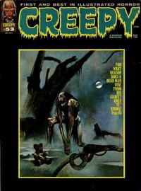 Cover for Creepy (Warren, 1964 series) #53