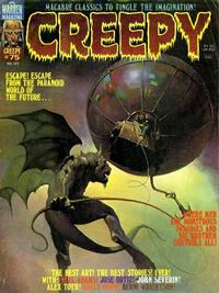 Cover for Creepy (Warren, 1964 series) #75