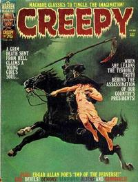 Cover for Creepy (Warren, 1964 series) #76