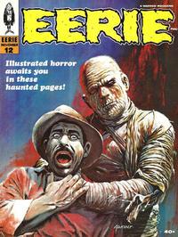 Cover for Eerie (Warren, 1966 series) #12