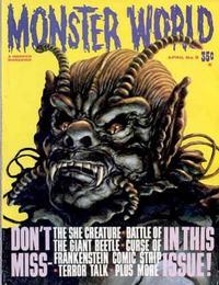 Cover Thumbnail for Monster World (Warren, 1964 series) #3