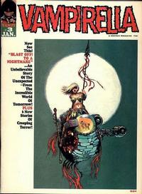 Cover for Vampirella (Warren, 1969 series) #3