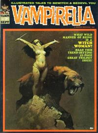 Cover for Vampirella (Warren, 1969 series) #7