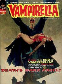Cover for Vampirella (Warren, 1969 series) #12