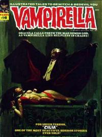 Cover for Vampirella (Warren, 1969 series) #16