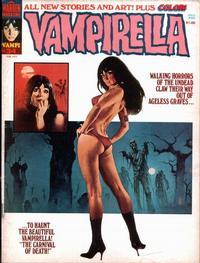 Cover for Vampirella (Warren, 1969 series) #34