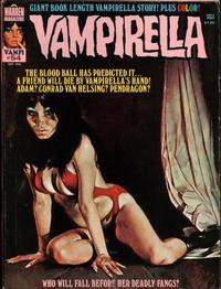 Cover for Vampirella (Warren, 1969 series) #54
